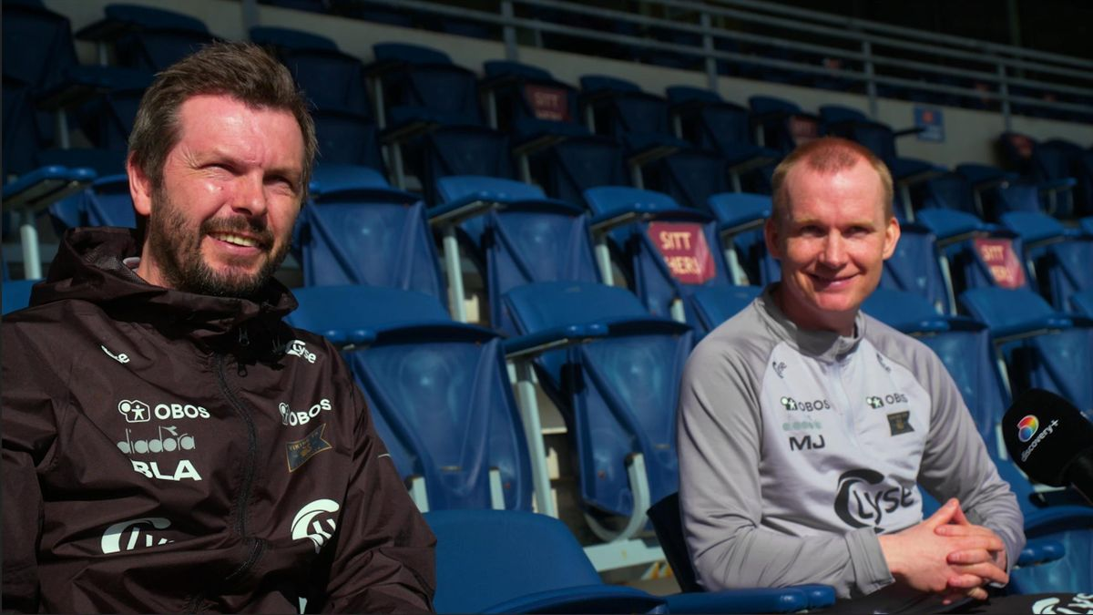 Bjarte Lunde Aarsheim og Morten Jensen i intervju med Eurosport.