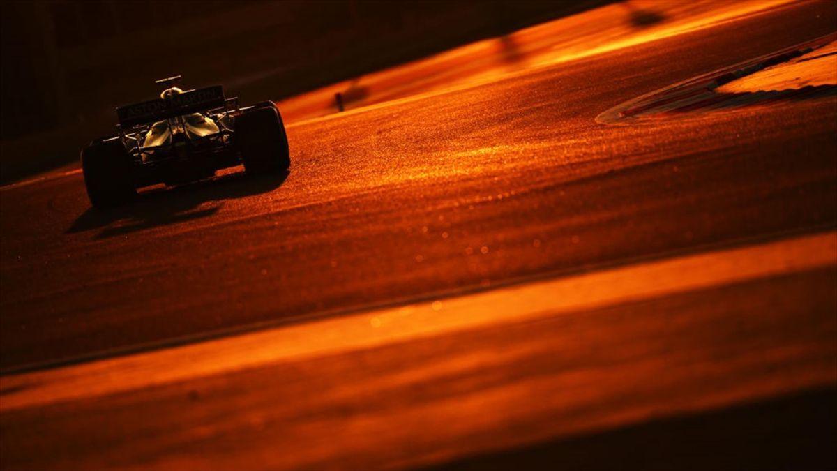 Sebastian Vettel im Aston Martin