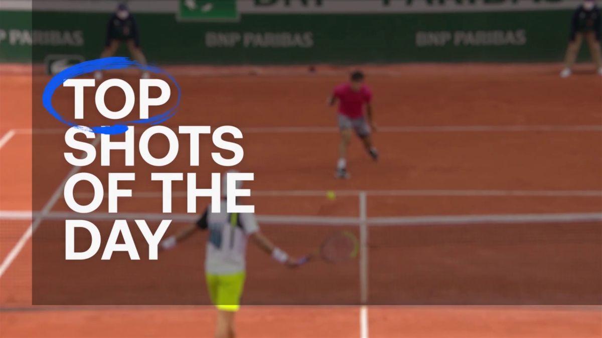 Roland-Garros: Top 5 of day 7