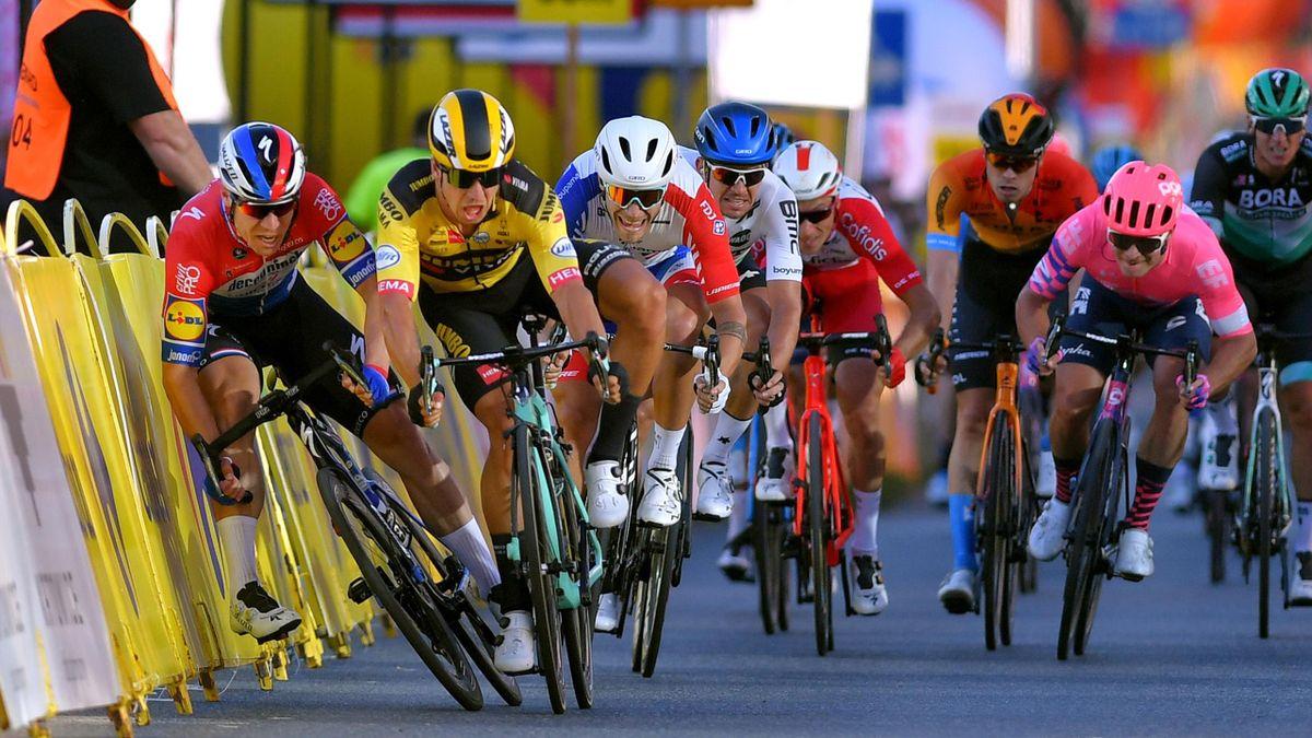 La caduta al Giro di Polonia