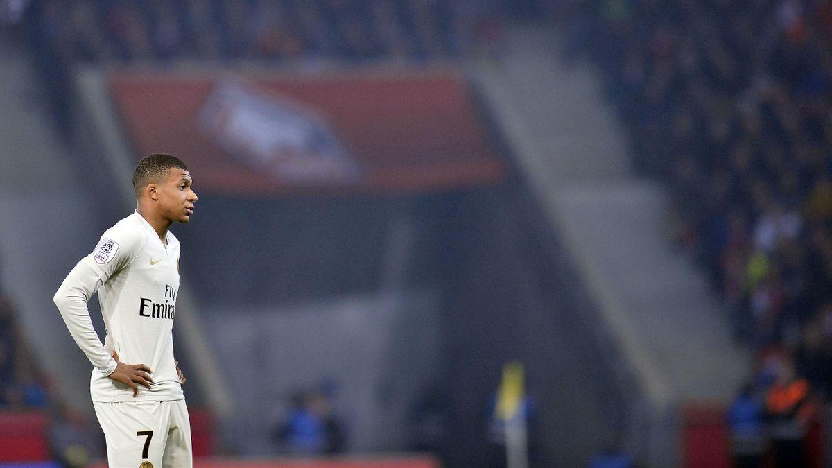 Kylian Mbappé face à Lille