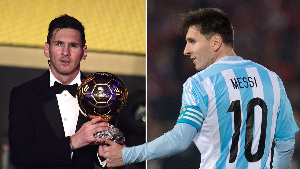 Messi: Lieber Weltmeister als Weltfußballer