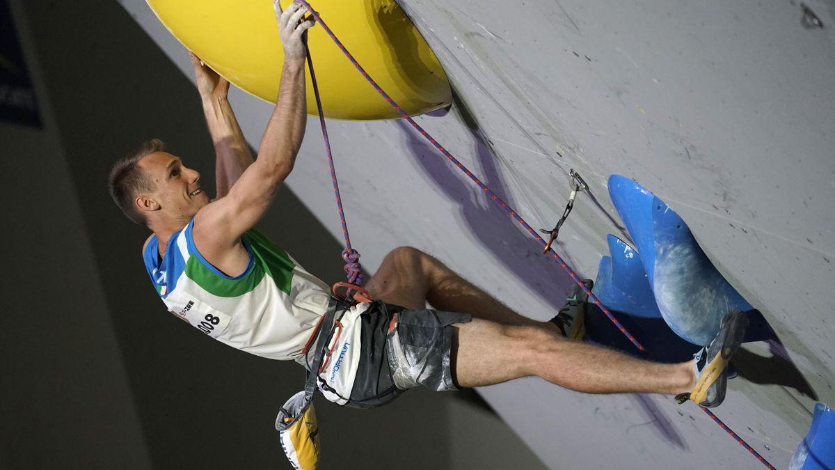 Ludovico Fossali sarà il primo italiano a rappresentare l'Italia nell'Arrampicata Sportiva in una Olimpiade, Getty Images