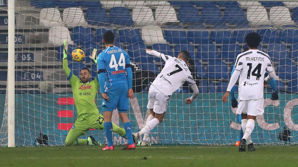 Криштиану Роналду приносит «Ювентусу» Суперкубок Италии