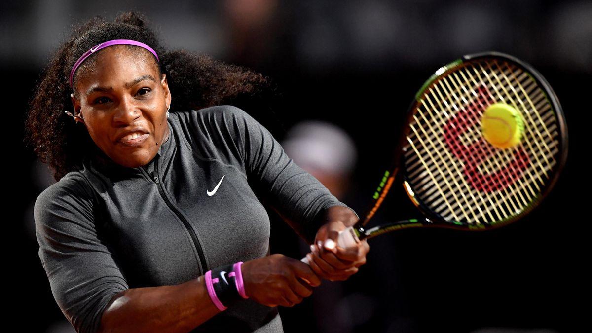 US tennis player Serena Williams.