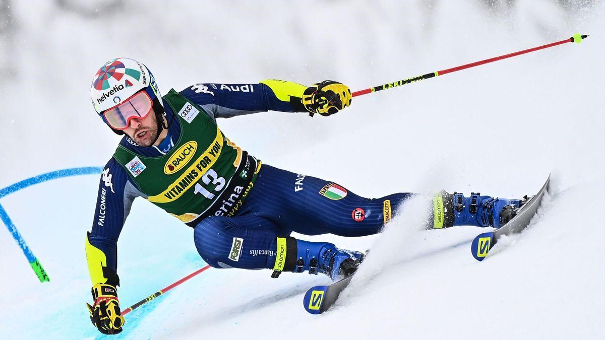 Luca De Aliprandini ottimo sesto nel gigante di Santa Caterina