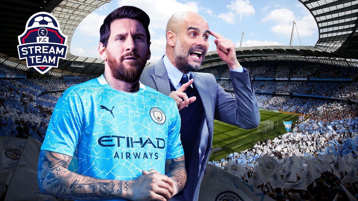 FC Stream Team - Lionel Messi et Pep Guardiola, réunis à City