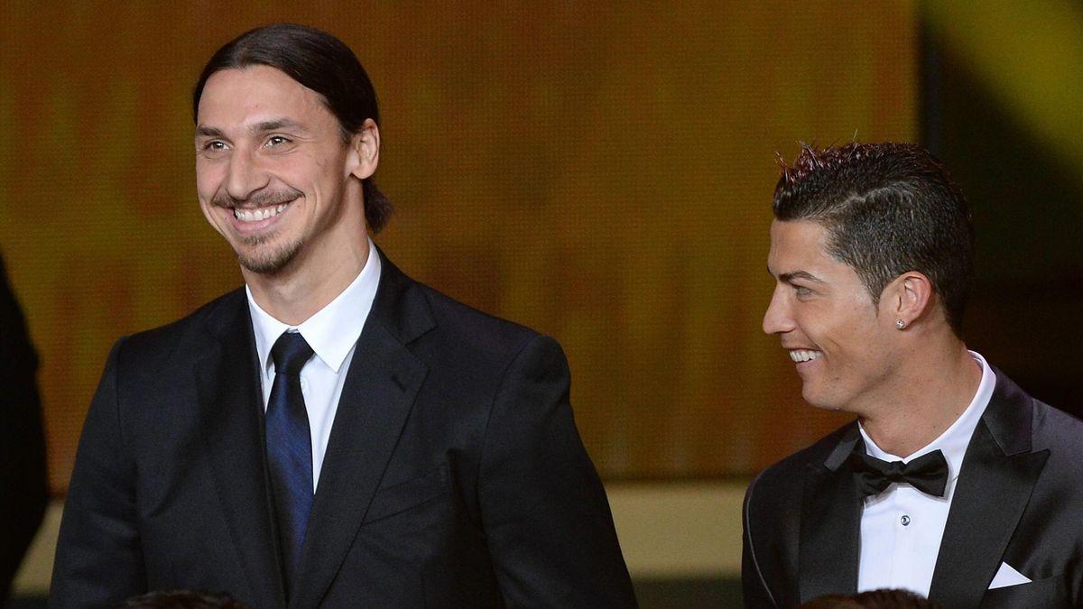 Zlatan Ibrahimovic, Cristiano Ronaldo, Imago