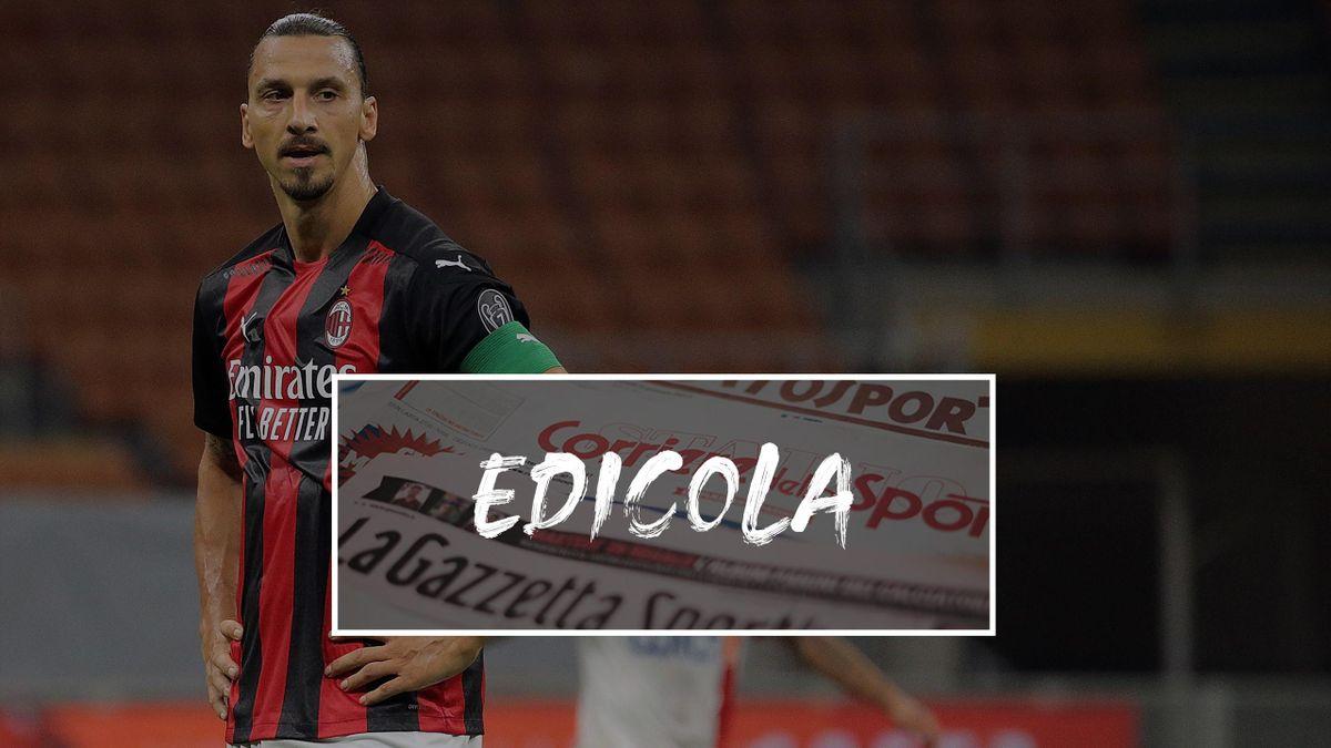 Zlatan Ibrahimovic, Edicola 2020
