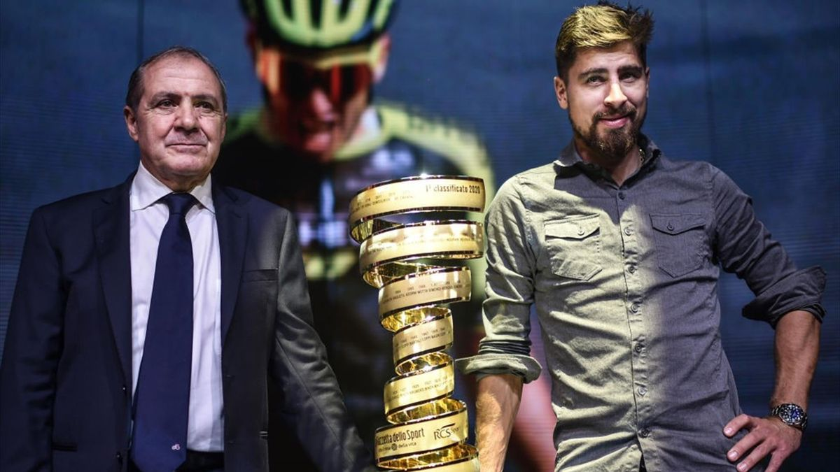 Mauro Vegni, Peter Sagan - Giro d'Italia 2020 - Getty Images