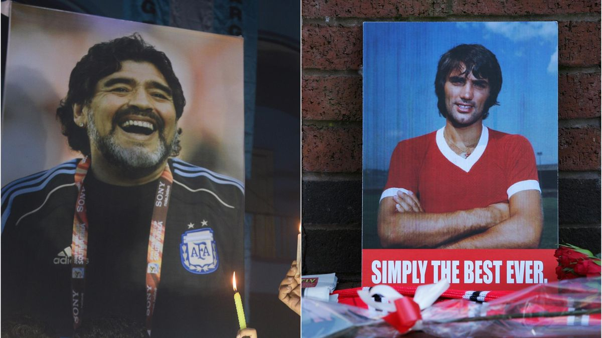 Diego Armando Maradona & George Best