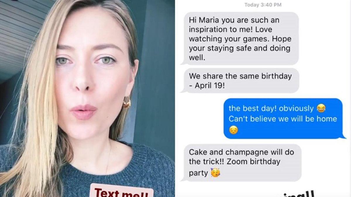 Maria Sharapova - Instagram e Twitter