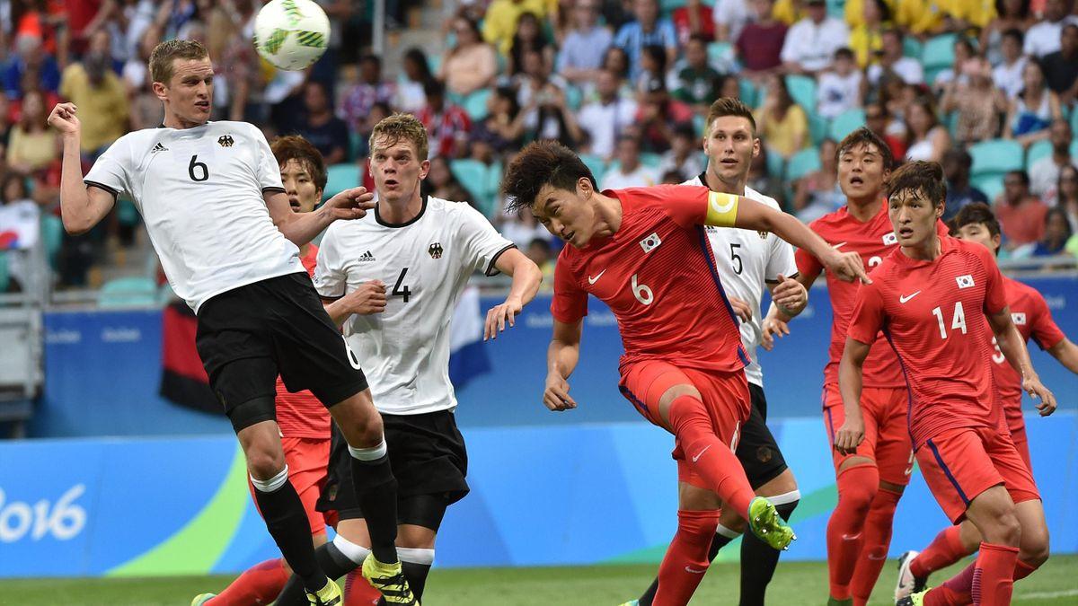 Deutschland spielte bei Olympia gegen Südkorea nur 3:3