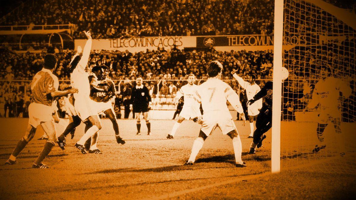 Benfica - OM : La main de Vata...