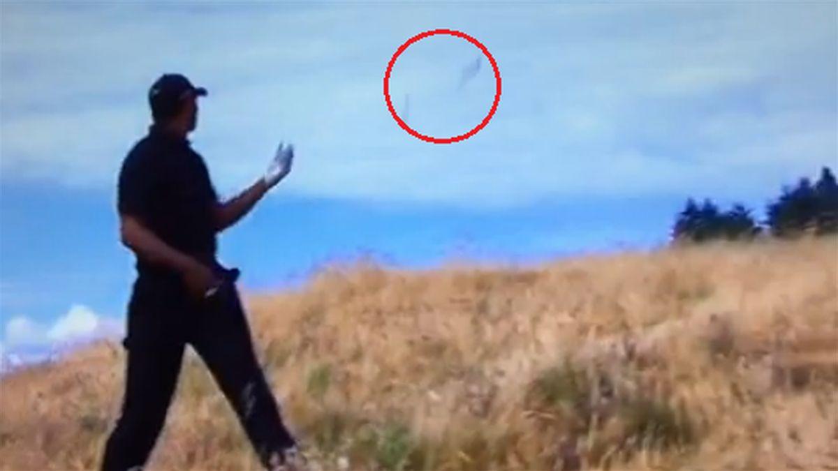 Tiger Woods agli US Open 2015 perde la sua mazza