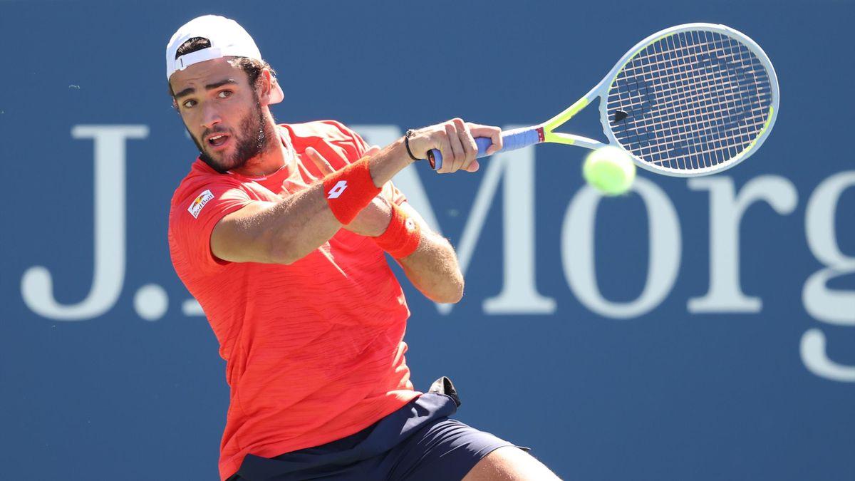 Semifinalista un anno fa, Matteo Berrettini è stato ancora l'ultimo italiano superstite allo US Open.