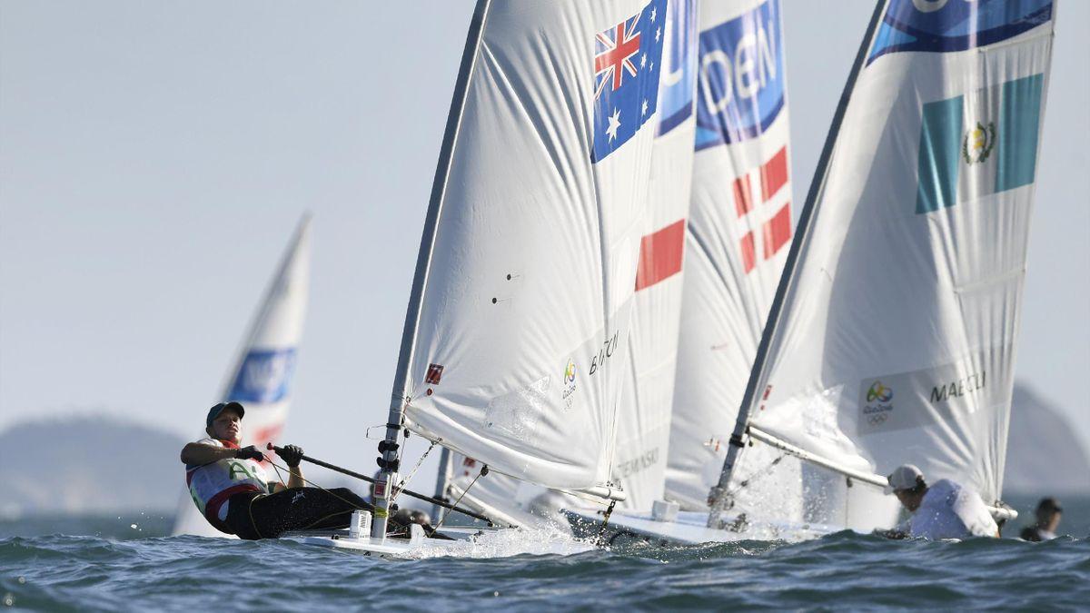 Tom Burton Sailing Laser Rio-2016