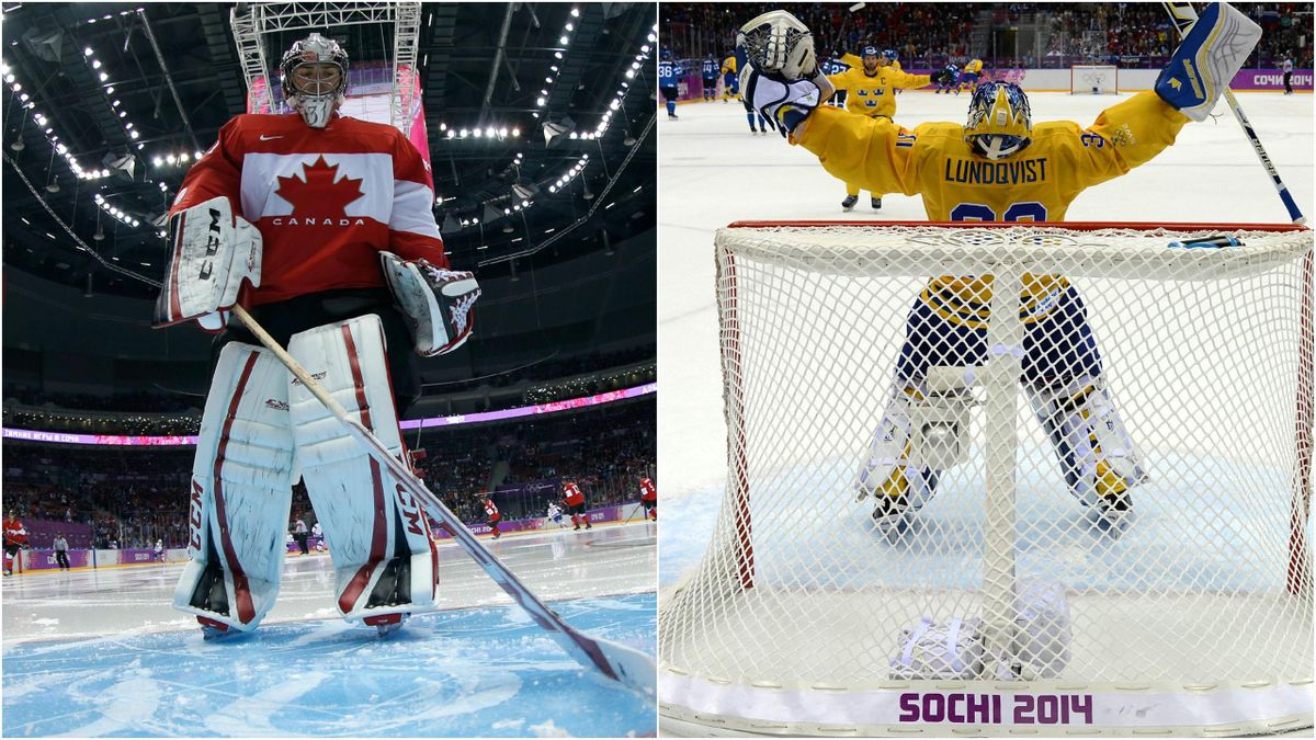 Hockey JO Sotchi Finale Suède Canada Price Lundqvist