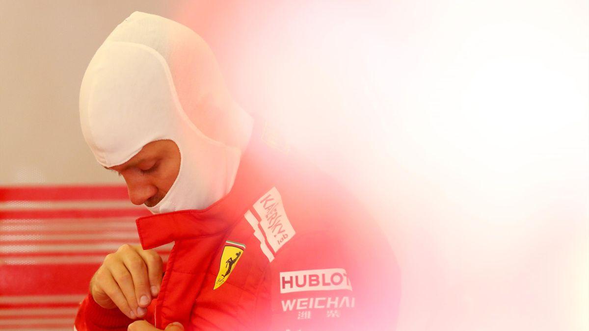 Sebastian Vettel, Ferrari, Getty Images