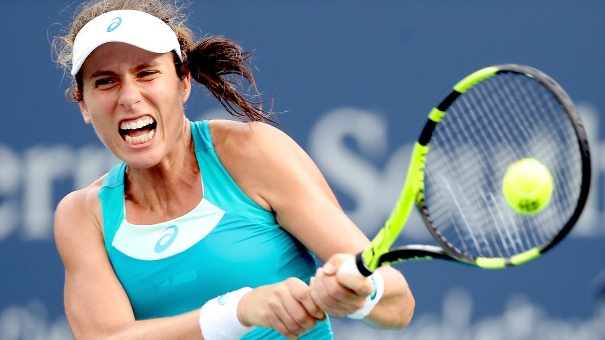 Johanna Konta beats Domenika Cibulkova