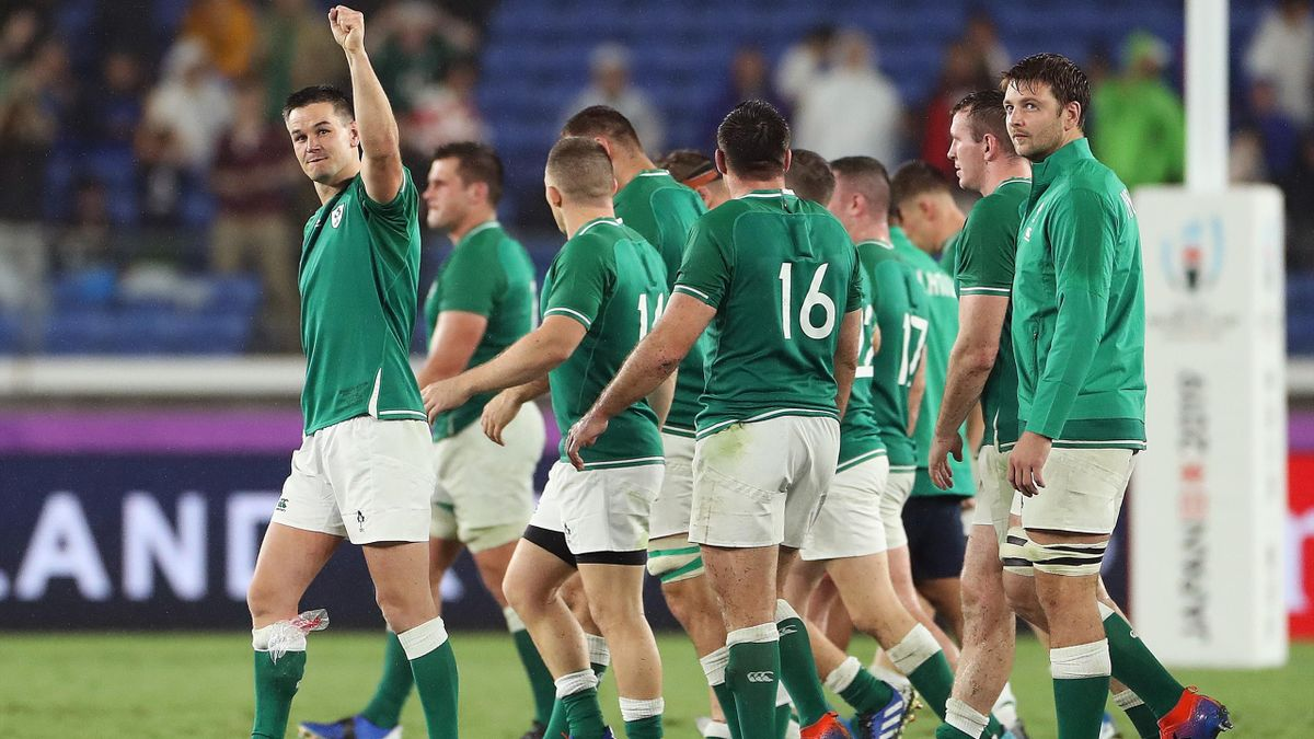 Ireland beat Scotland in the rugby world cup