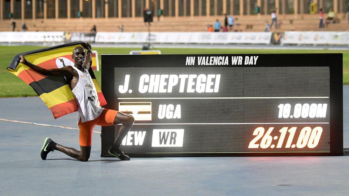 Cheptegei, record mondial la 10.000 m