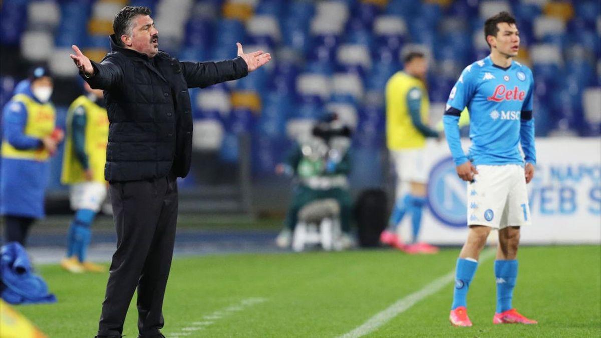 Gennaro Gattuso - Napoli-Juventus - Serie A 2020/2021 - Getty Images