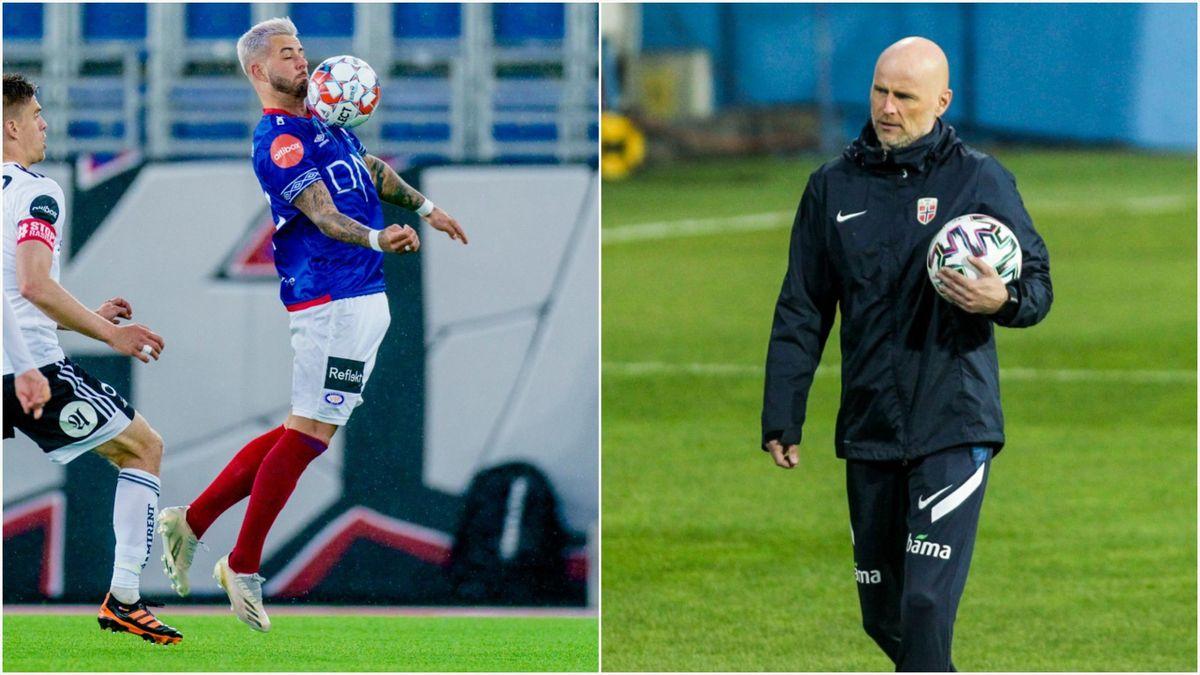 Aron Dønnum og Ståle Solbakken.