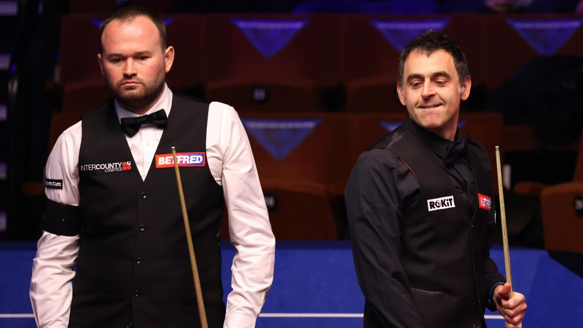 Mark Joyce et Ronnie O'Sullivan.
