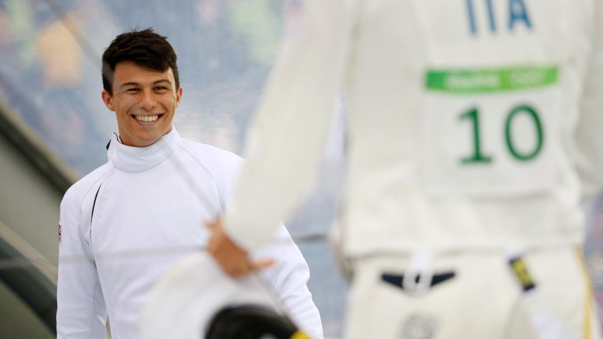 Joseph Choong goes into the modern pentathlon final in second place