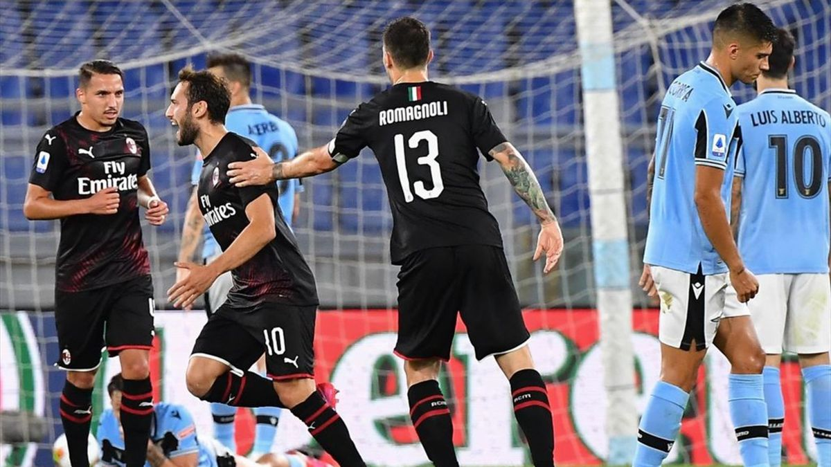 Çalhanoglu - Lazio-Milan - Serie A 2019/2020 - Getty Images