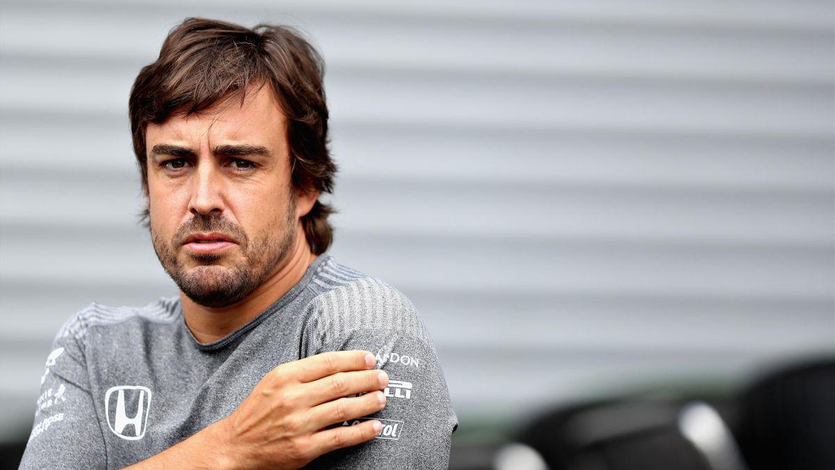 Fernando Alonso (McLaren) - Grand Prix of Belgium 2017
