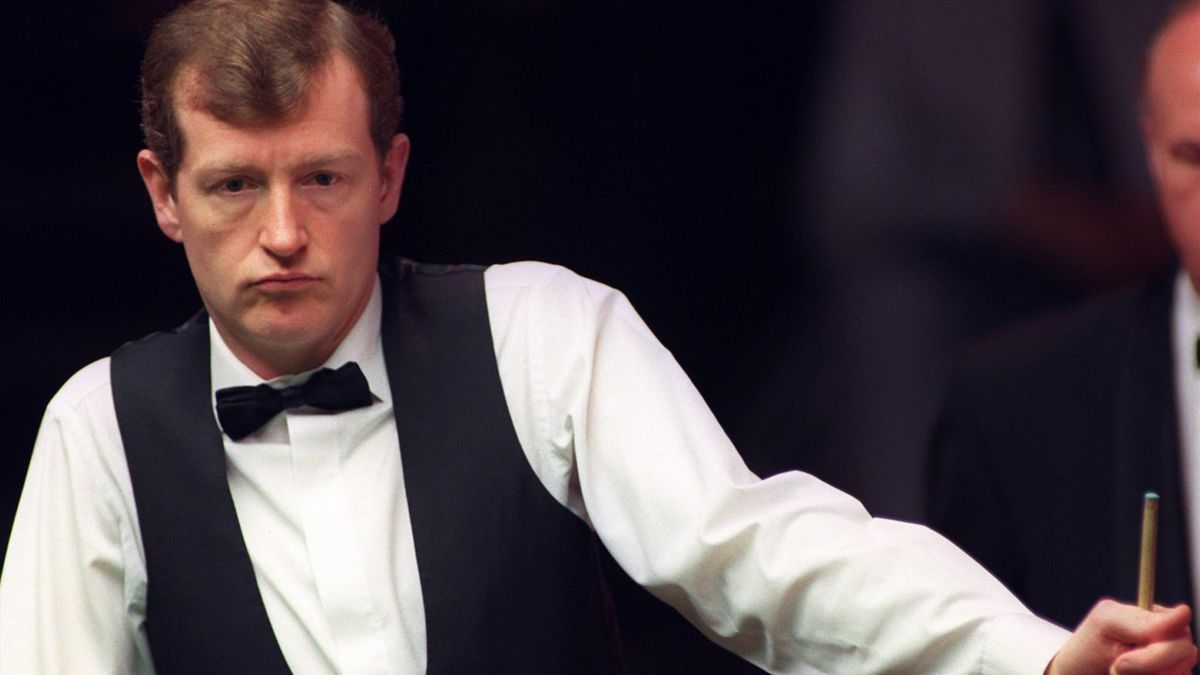 Steve Davis at the Crucible in 1996