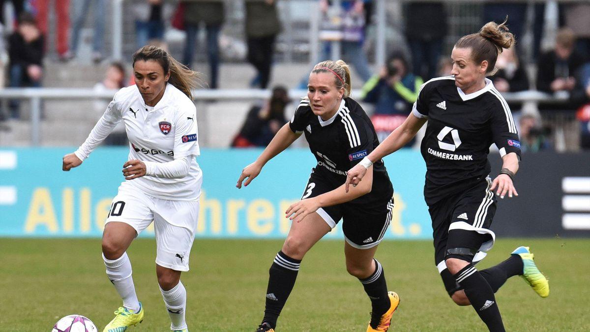 Frankfurt nach Krimi gegen Rosengard im Halbfinale