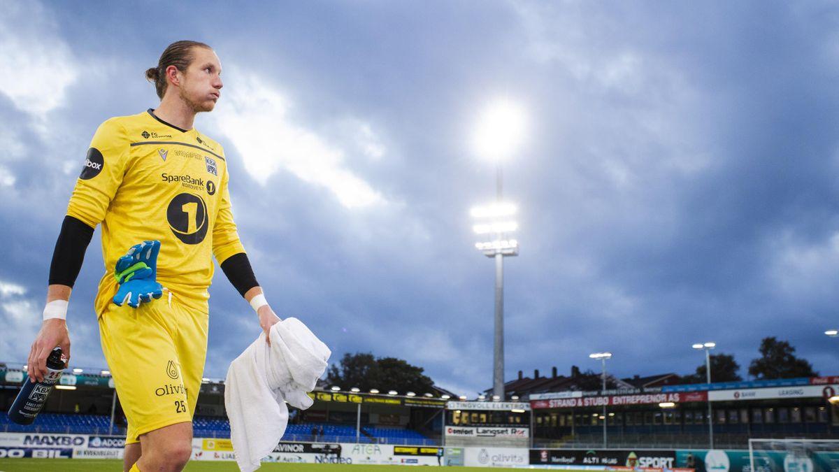 Eirik Holmen Johansen, her på utlån i Kristiansund