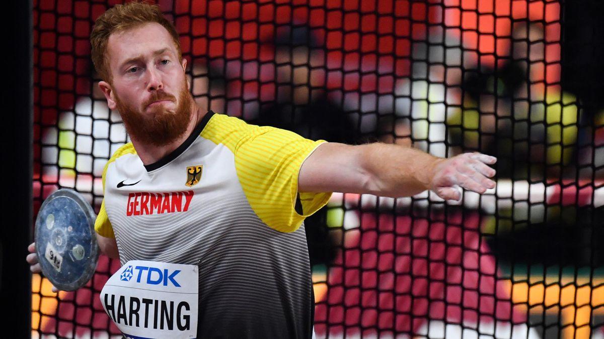 Christoph Harting ist Ersatzmann bei Olympia