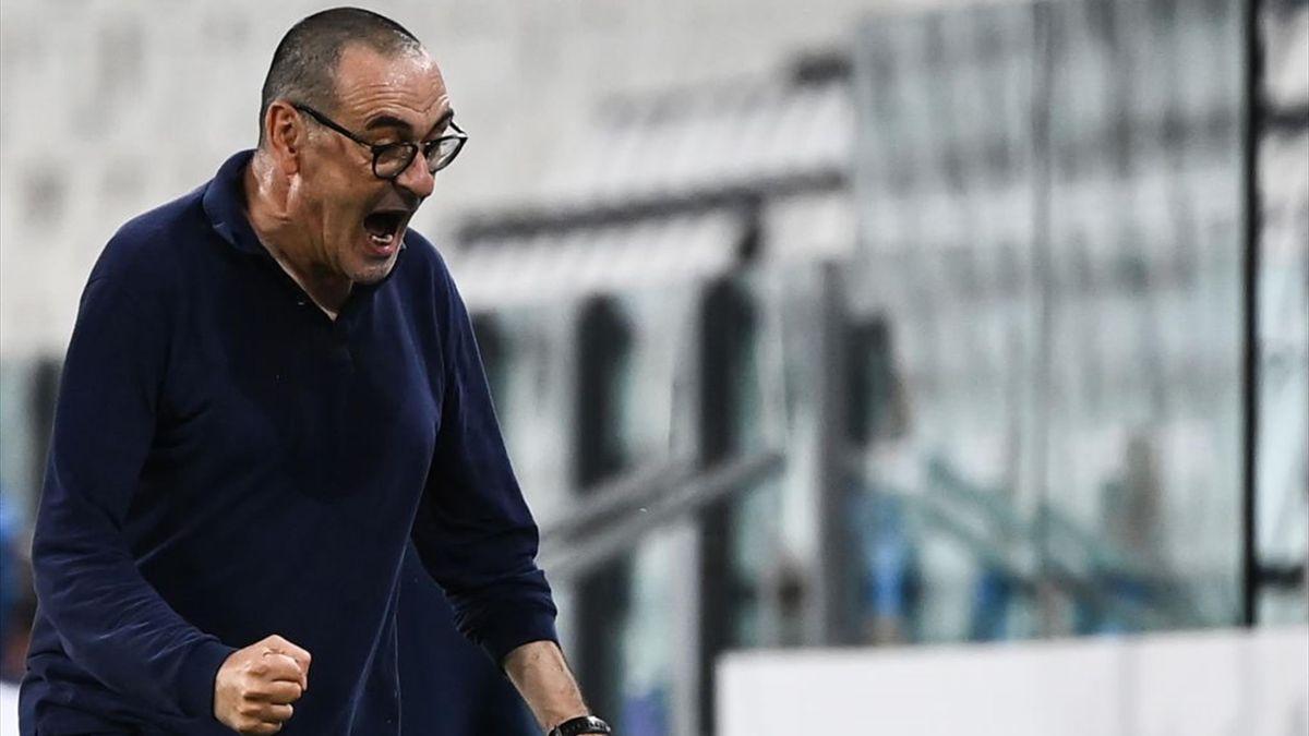 Sarri - Juventus-Lazio - Serie A 2019/2020 - Getty Images