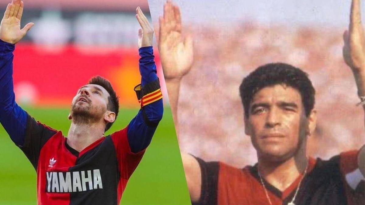 Leo Messi - Diego Maradona
