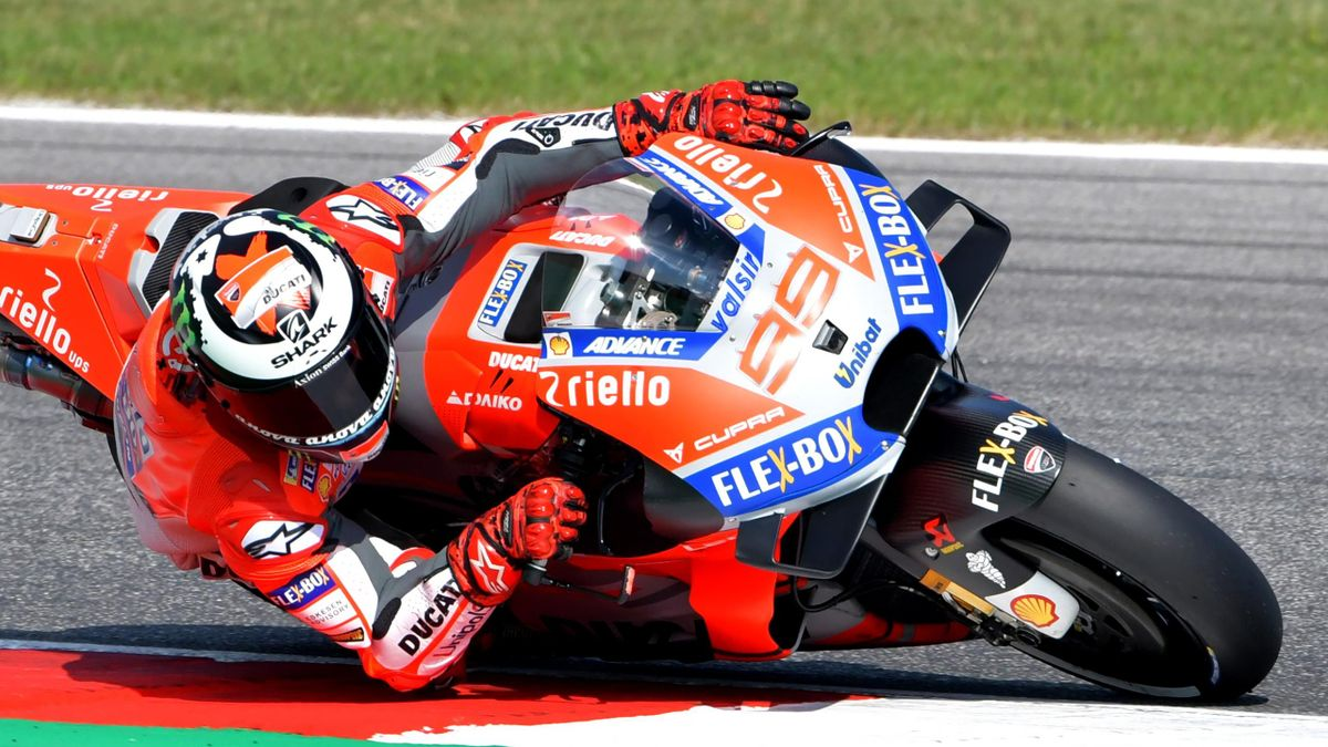 Jorge Lorenzo (Ducati Team) - GP of San Marino 2018