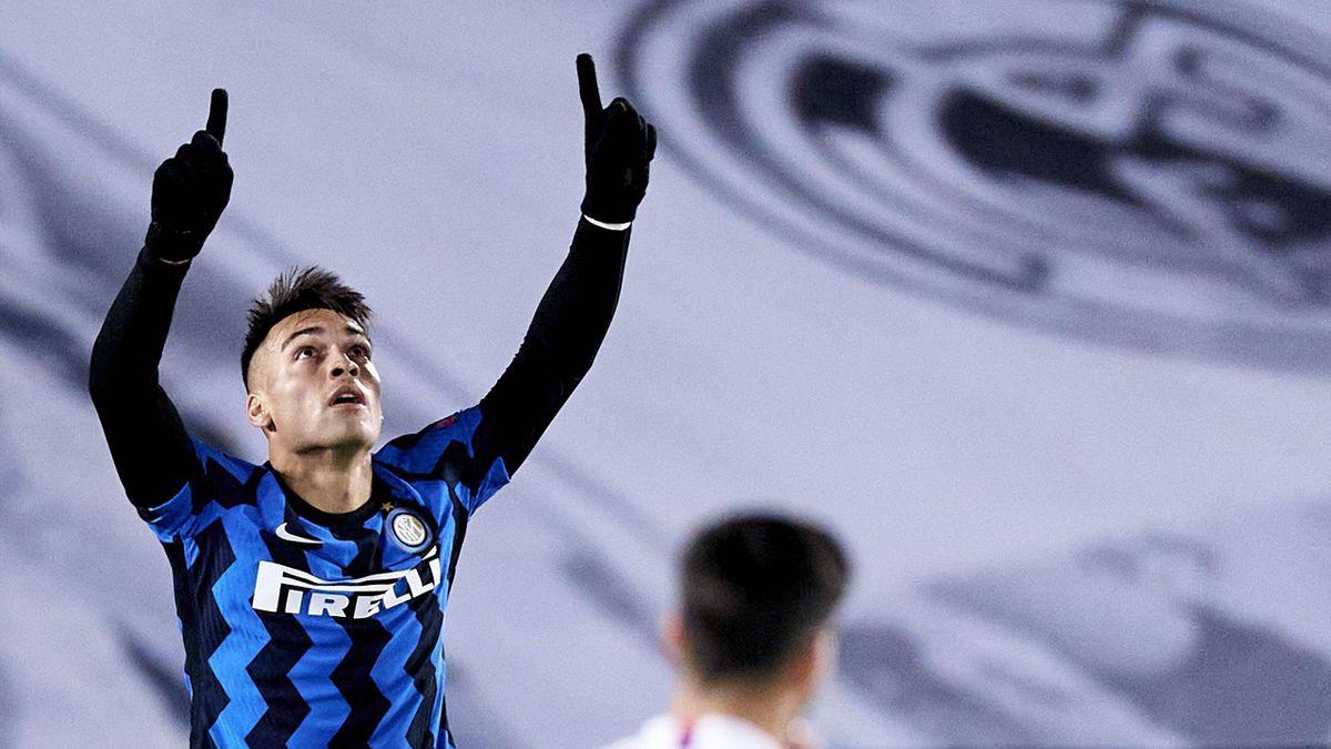 Lautaro Martinez, Real Madrid-Inter, Getty Images