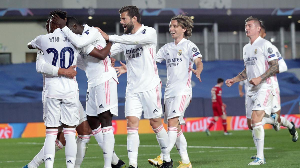 Le Real Madrid a dominé Liverpool en quart de finale aller de C1