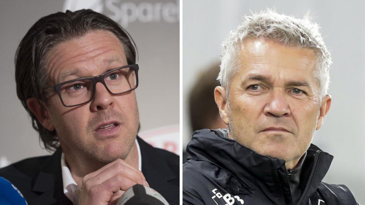 Rikard Norling og Kåre Ingebrigtsen