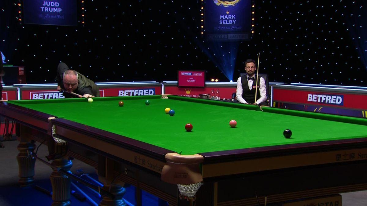 Snooker Masters 2021: John Higgins a trecut în semifinală de David Gilbert