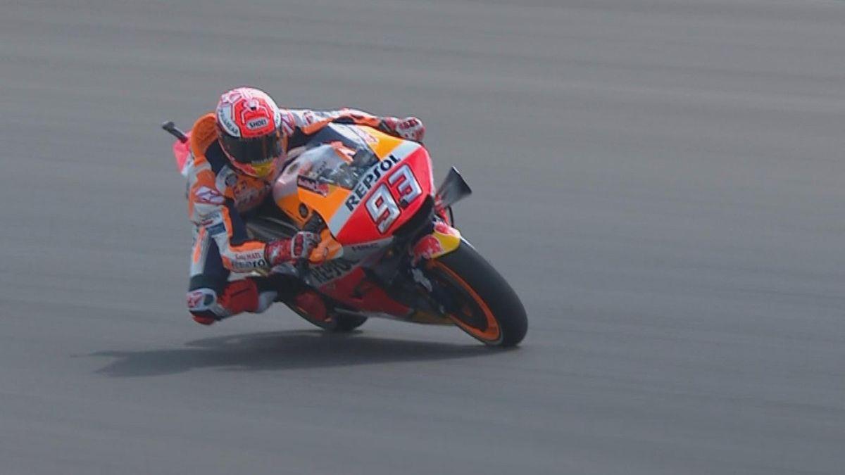 Moto GP Argentina : Marquez takes lead in FP1