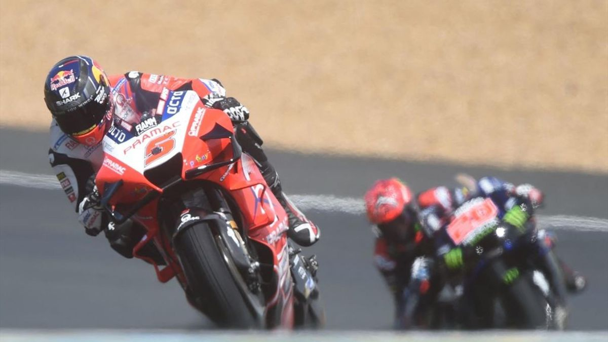 Johann Zarco (Ducati Pramac) et Fabio Quartararo (Yamaha MotoGP) au Grand Prix de France 2021