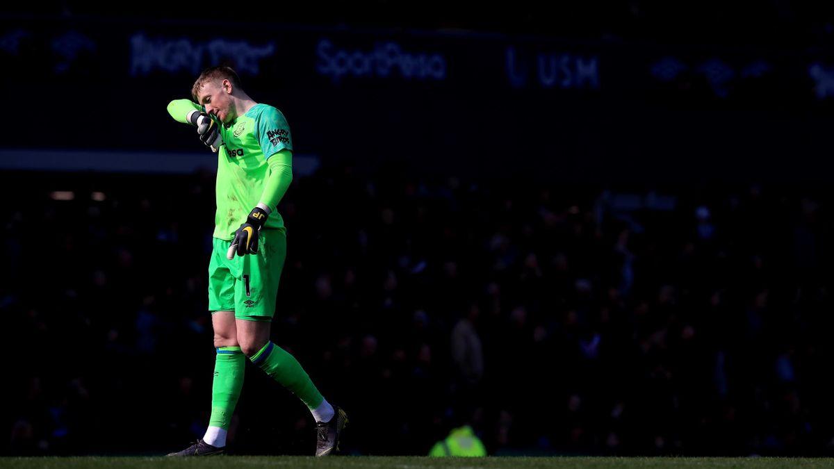 Jordan Pickford, goalkeeper-ul lui Everton