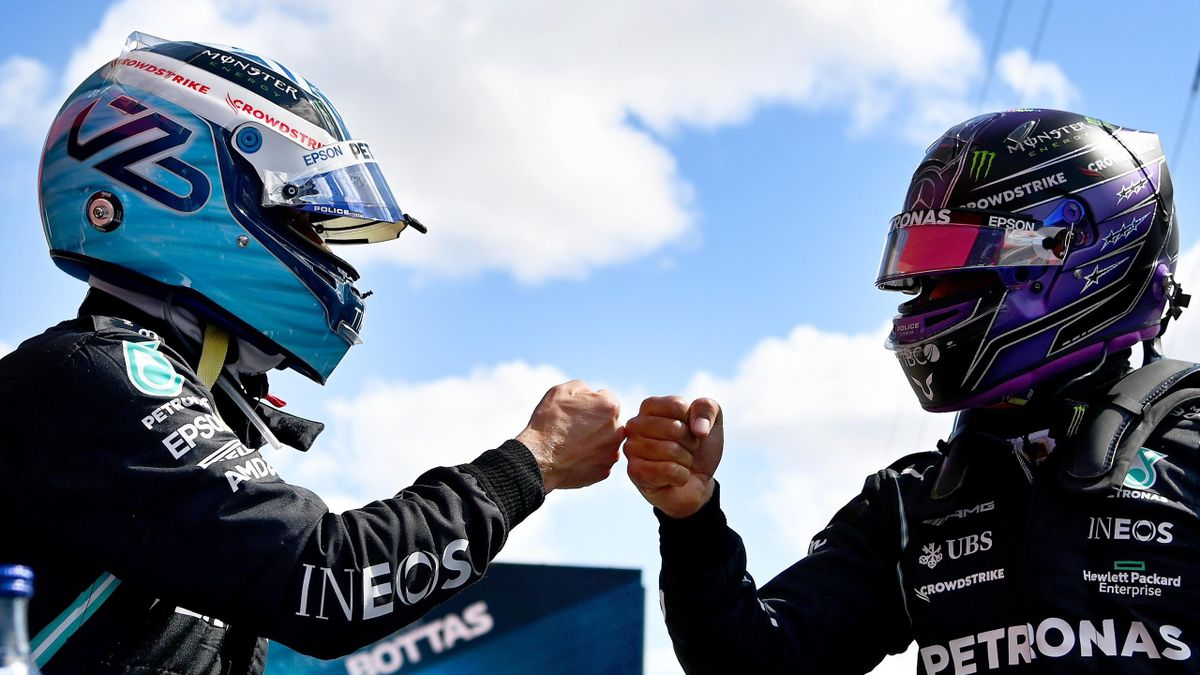 Valtteri Bottas - Lewis Hamilton