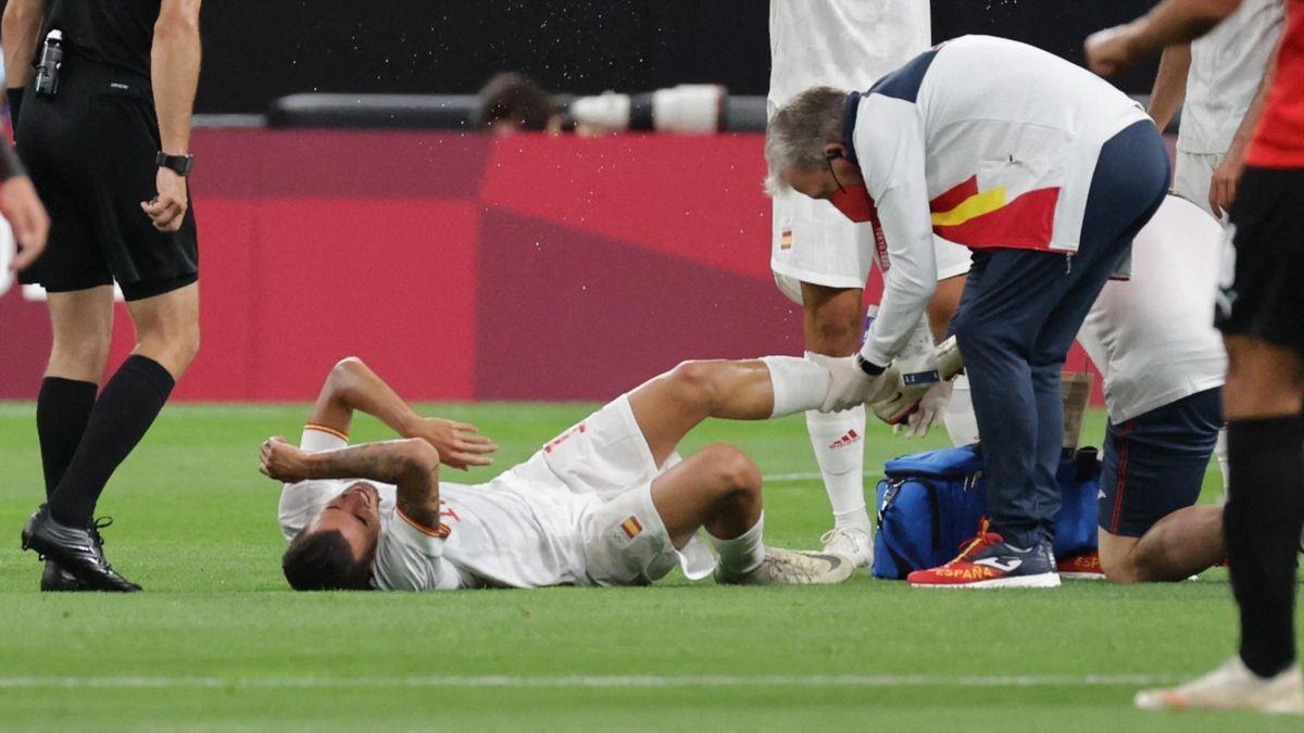 Dani Ceballos doznał bolesnej kontuzji