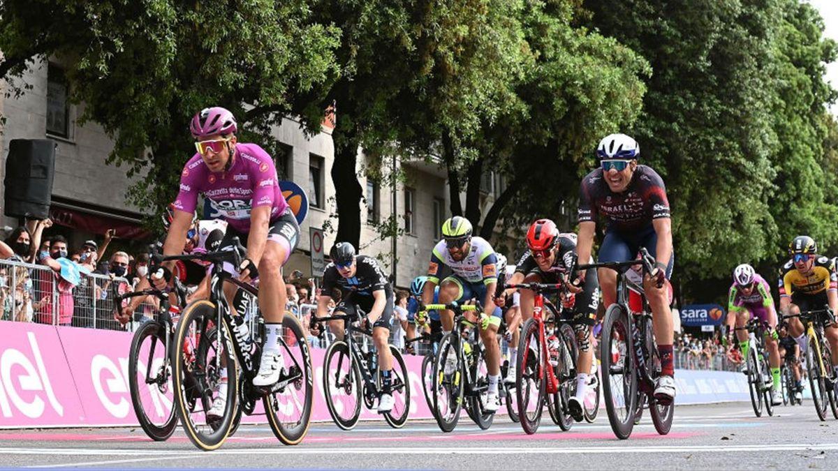Peter Sagan in volata a Verona - Giro d'Italia 2021