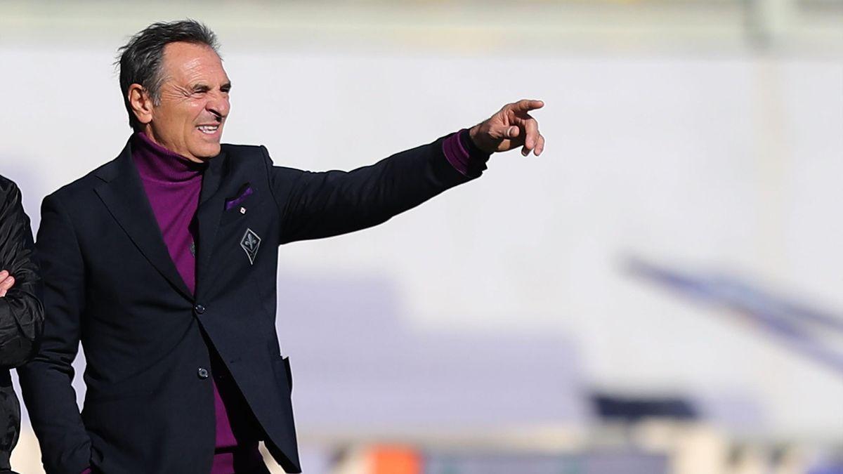 Fiorentina-Benevento, Serie A 2020-2021: l'allenatore della Fiorentina Cesare Prandelli (Getty Images)